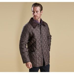 Barbour Liddesdale Jacket Quilted Corduroy Collar